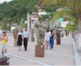 Manzanillo's Malecon is enjoyed by tourists and locals